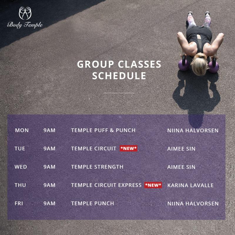 Group Classes (Feb 2018)